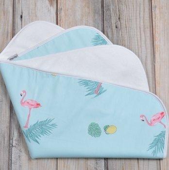 Непромокаемая пеленка Magbaby Фламинго с лимонами 60 х 80 см