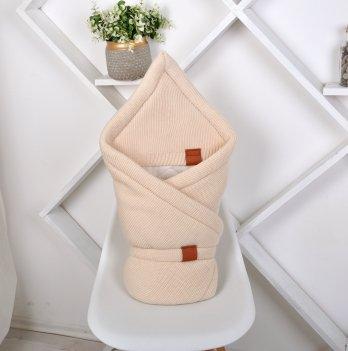 Конверт-одеяло вязанное трикотаж Magbaby Familia Бежевый