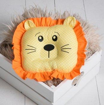 Детская ортопедическая подушка-игрушка Magbaby для новорожденных Leo