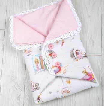 Летний конверт-одеяло Magbaby Сказочное мгновение, с пуговицами