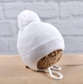 Вязаная шапка Magbaby Albie Белый