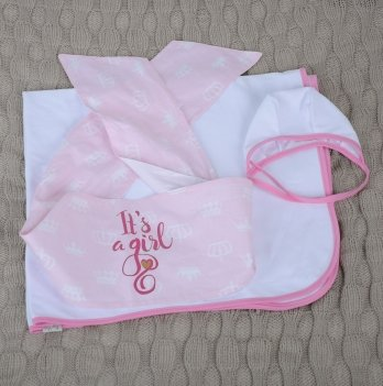 Набор на выписку Magbaby, First feelings, розовый