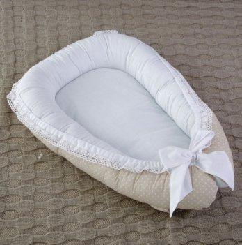 Гнездо для новорожденного Magbaby Babynest Нежность