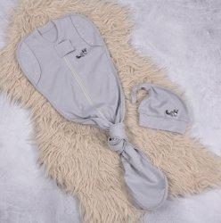 Безразмерная пеленка-кокон Magbaby на молнии Каспер Енот