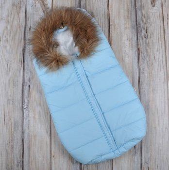 Зимний конверт для новорожденного Magbaby, Дутик Snowman, голубой
