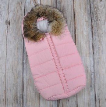 Зимний конверт для новорожденного Magbaby, Дутик Snowman, розовый