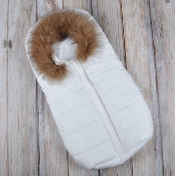 Зимний конверт для новорожденного Magbaby, Дутик Snowman, белый