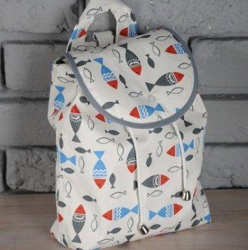 Детский рюкзак Рыбки Magbaby