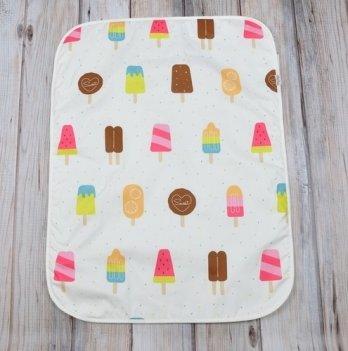 Непромокаемая пеленка Magbaby Мороженое 60х80 см