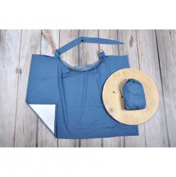 Накидка для кормления MagBaby Джинс + сумочка-чехол