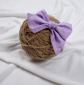 Повязка Magbaby Бантик Фиолетовый 101630