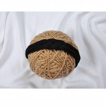 Трикотажная повязка Magbaby Косичка Черный 101641