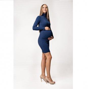 Платье для беременных и кормящих London Lullababe Синий