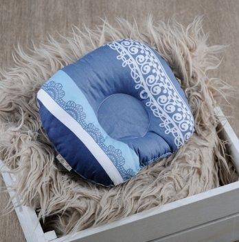 Детская подушка для новорожденных Magbaby Индиго