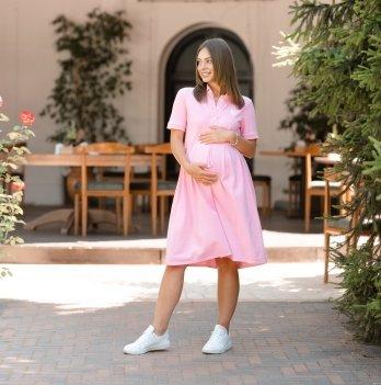 Летнее платье для беременных Lullababe Polo Sorento Розовый