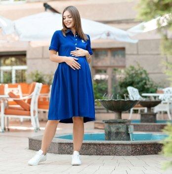 Летнее платье для беременных Lullababe Polo Sorento Синий