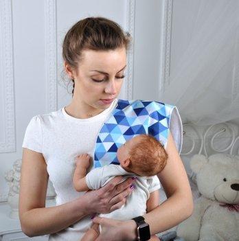 Полотенце для гигиены новорожденных Magbaby Мозаика