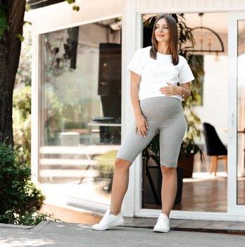 Велосипедки для беременных Lullababe Seville Серый