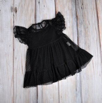 Фатиновое платье с боди MagBaby черное