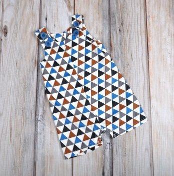Ромпер-песочник MagBaby, Барселона, треугольники
