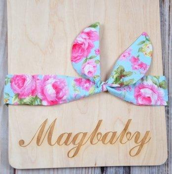 Повязка для девочки MagBaby Солоха, Весенние мотивы