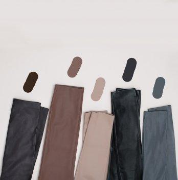 Леггинсы для беременных женщин MBerry dress, из кожзаменителя, коричневые