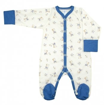 Комбинезон Veres Little Bear blue кулир