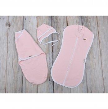 Комплект коконов Magbaby Капитоне, нежно-розовый