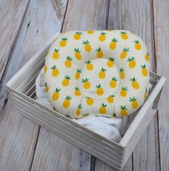Ортопедическая подушка для новорожденных Magbaby, Ананас