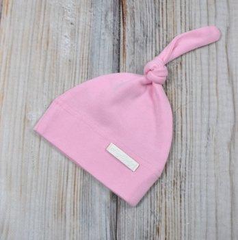 Шапочка-колпачок для новорожденного Magbaby розовая