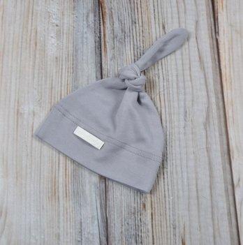 Шапочка-колпачок для новорожденного Magbaby, серый