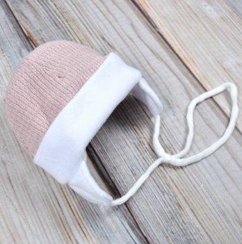 Шапочка для новорожденного Magbaby Путешественник розовая
