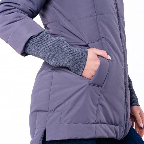 Слингокуртка еврозима 3 в 1 для беременных и кормящих мам Nurmes Lullababe серый