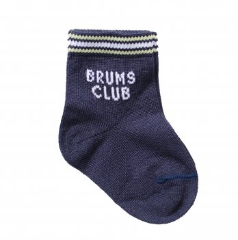 Носки с надписью Brums Club, Brums Italy синие
