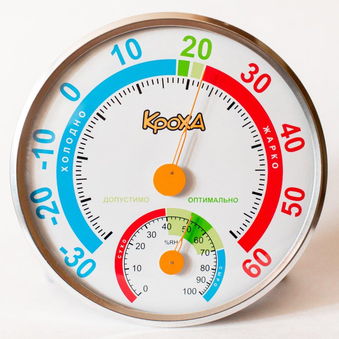 Термогигрометр Кроха