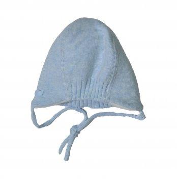 Вязаная шапочка MaxiMo голубая