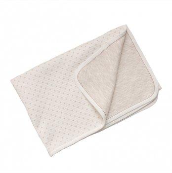 Одеяло-плед для малышей Minikin молочное, 178412