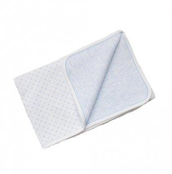 Одеяло-плед для малышей Minikin голубое, 178512