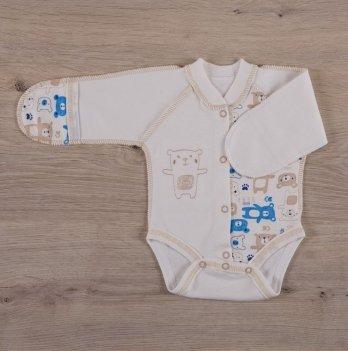 Боди для новорожденных, Бетис Міні мішка, закрытый рукав, голубой