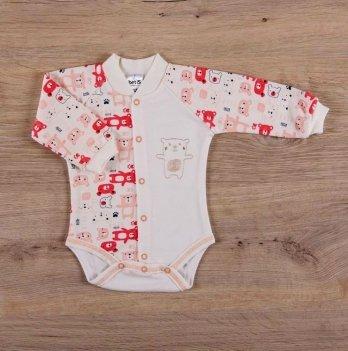 Боди для малышей, Бетис Міні мішка, с вышивкой, д.р., красный