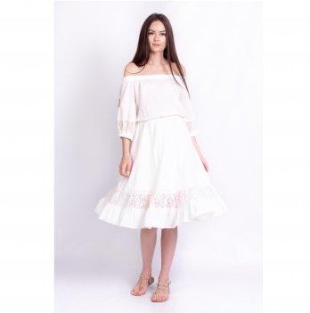 Платье для беременных Diana White Rabbit молочный