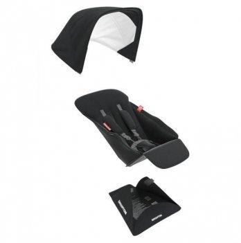 Текстиль сиденья для коляски Greentom Upp Reversible D Black