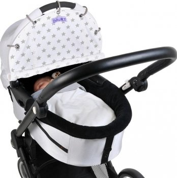 Защитная накидка на коляску и автокресло, Dooky Design Cover, Silver Stars