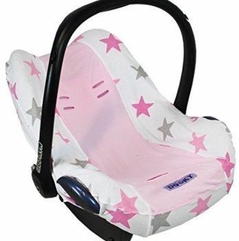 Чехол на автокресло 0+, Dooky Seat Cover, Pink Stars