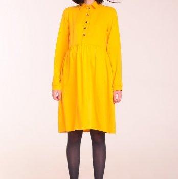 Платье для беременных и кормящих мам White Rabbit КАТЕ волшебный желтый
