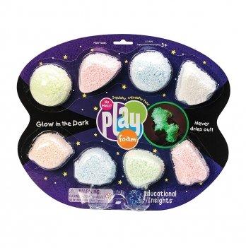 Набор шарикового пластилина Educational Insights, Космическое сияние, 8 цветов