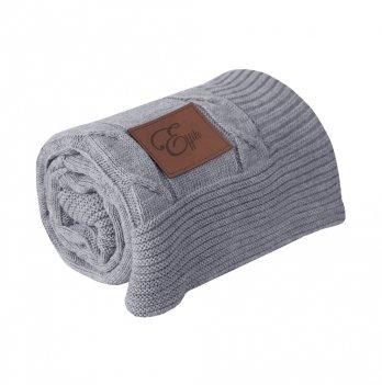 Одеяло шерстяное Effiki серо-серое 75x110