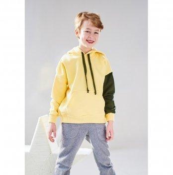Худи с капюшоном Lutik КФ-1432 желтый