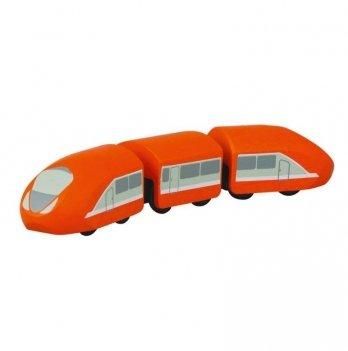 Деревянная игрушка PlanToys® Современный поезд