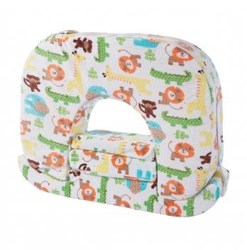 Ортопедическая подушка для кормления, Feeding Pillow, для кормления двух детей одновременно Zoo